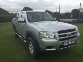 FORD RANGER WILDTRACK DOUBLE CAB , 2007 FULL YEAR MOT , RECENT RESPRAY