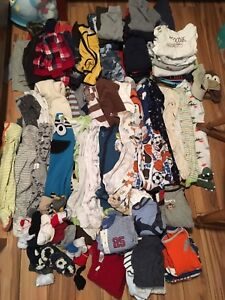 6 month & 6-12 month boy clothing lot