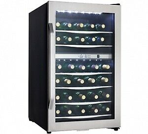 Danby 38 Bottle Wine Cooler  DWC1132BLSDB, New