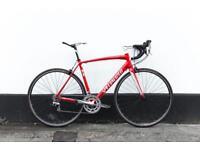 Specialized allez elite red racing bike 56 cm