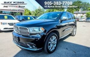 "2017 Dodge Durango CITADEL AWD, 8.4"" DISPLAY, NAVI, BLIND-SPOT,"