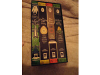 TOLKIEN -- Lovely boxset of THE HOBBIT / LORD OF THE RINGS Great condition, classic covers £20