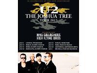 Tickets for U2 Croke park