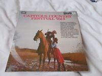 Vinyl LP Capitol's Country Festival Vol 3 Various Artists 1972 Starline SRS 5109