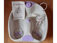 Foot Spa and Massager unused