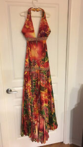 Beautiful formal gown-worn once!