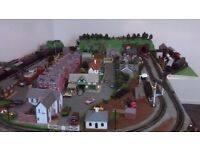 Model Railway Layout, Village Setting
