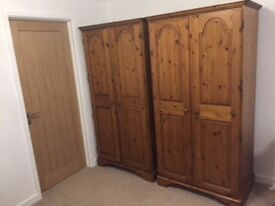 Ducal pine wardrobes