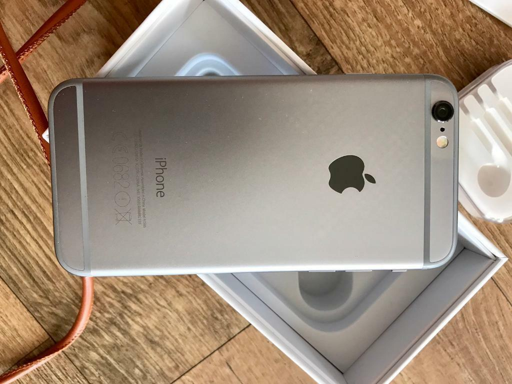 IPhone 16GB space grey Unlockedin Renfrew, RenfrewshireGumtree - Selling as Ive upgraded to a larger storage capacity iPhone.This item is less than 12 months old and in really good condition all round as you can see from the pics and all in full working order.This is the space grey 16gb iPhone 6. Unlocked for all...