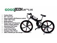 Electric Bike Go Go Jedi Available in two colours