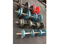 116kg Weights & Dumbells