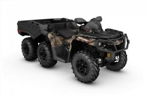 2017 Can-Am Outlander™ 6x6 XT™ 1000 - Break-Up Country Camo®
