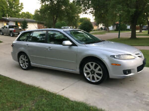 2007 Mazda Mazda6 GT Wagon (SAFETIED) $3,900 taxes included
