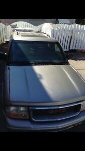 1999 GMC Jimmy SLT part out