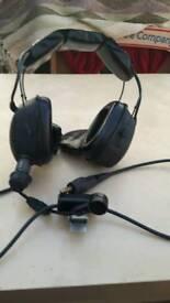 Racal acoustics jetgard pilots headset