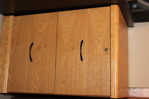 2 drawer maple filing cabinet, in great condition