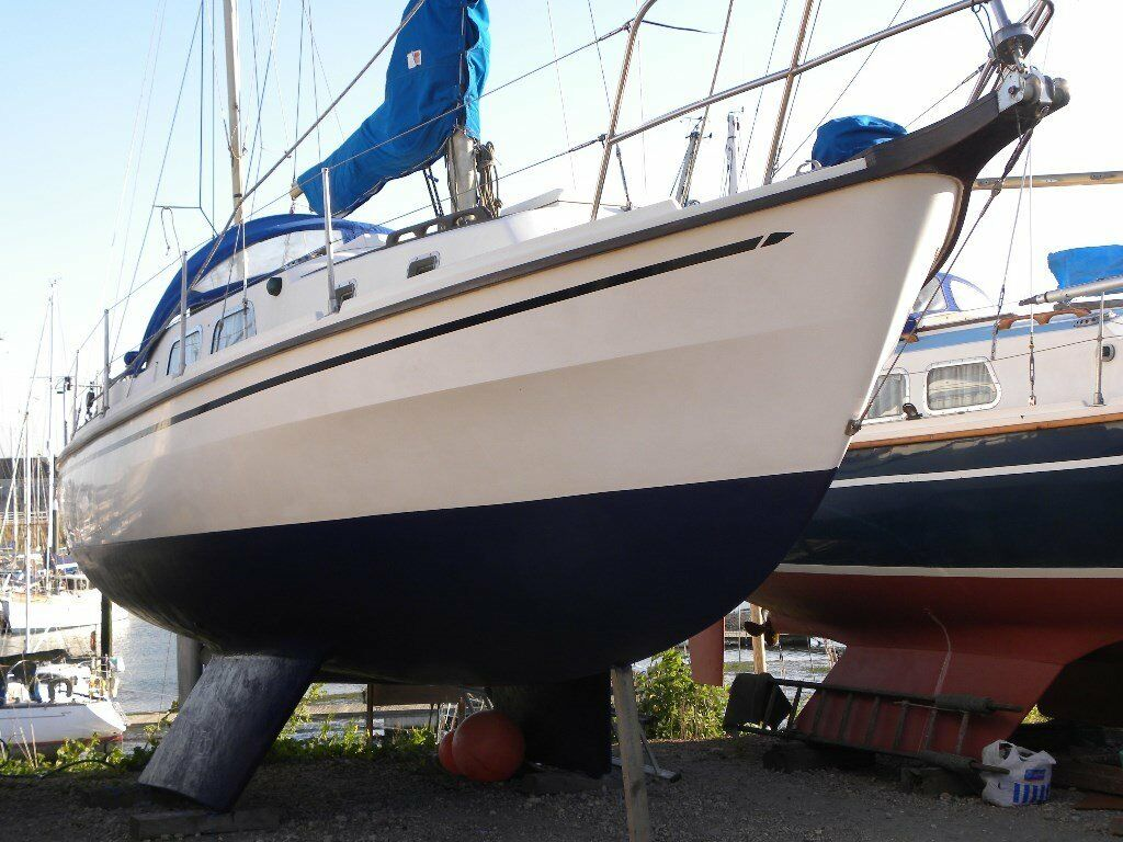 Westerly Pentland 31ft yacht, fully equipped, 6ft headroom, 6 berth, aft  cabin, wheel steering | in Bury St Edmunds, Suffolk | Gumtree