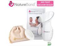 Nature bond silicone breast pump