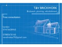 We are team doing brickwork/blockwork /extention's and property maintenance