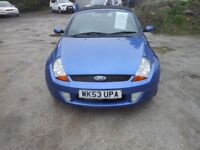 ford ka convertible 2003-53-reg, 1599cc New mot on purchase, only 93,000 MILES