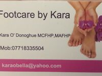 Foot care in the comfort of your own home.