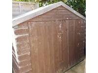Bike shed, storage shed, allotment shed