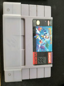 SNES Megaman X, X2, X3 bundle