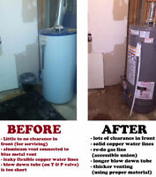 NO HEAT?! 24 HOUR PLUMBING, HEATING / FURNACES, GAS, DRAINS