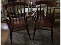 Carver chairs +2