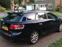 2009 59 reg toyota avensis tr d4d 1 owner only with service history sat nav