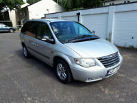 2007 Chrysler Voyager turbo diesel, 7 seater, MOT APril 2018, service