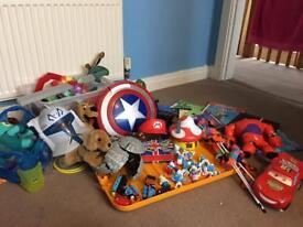 Carboot items kids toys