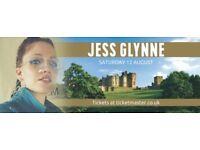 2x Jess Glynne Tickets for alnwick
