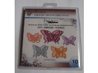 Spellbinders Grand Shapeabilities - Wonderful Wings - LF-006 - New
