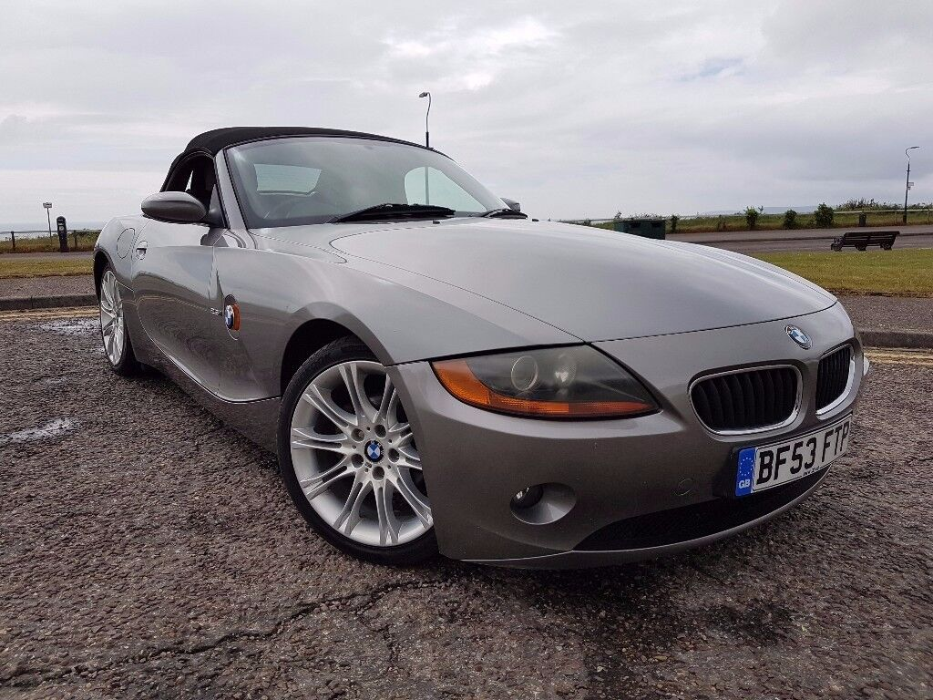 bargain 2003 bmw z4 petrol convertible grey long mot in bournemouth dorset gumtree. Black Bedroom Furniture Sets. Home Design Ideas