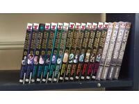Selling Battle Angel Alita manga collection