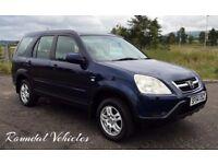 2004 Honda Cr-V ( CRV ) SE Sport 2.0 v-tec 4x4 Navy Blue met just serviced Long mot Lovely car !