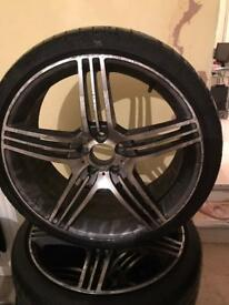 20 inch Mercedes CLS Alloys