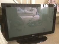 "Samsung 42"" black TV"
