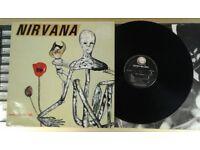 Nirvana – Incesticide, VG, released in 1992, Grunge Rock Vinyl Record