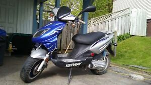 Keyway fact 50cc scooter!