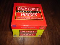 ONLY FOOLS AND HORSES COMPLETE COLLECTION DVD'S