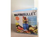 NUTRiBULLET 600w 12 piece set - Brand New not used