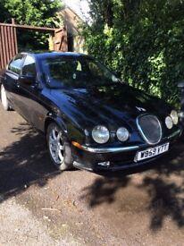 Jaguar S-Type W reg 11mths m.o.t