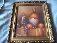 original oil painting on canvas signed