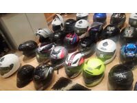 ******MOTORCYCLE HELMETS, CHEAP PRICES*****12 - ALL TYPES –– EAST LONDON