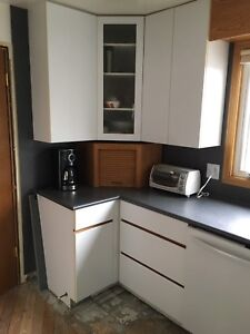 Used kitchen cabinets/counter tops