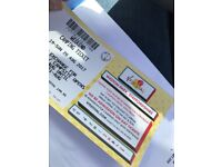 2 X V FESTIVAL MUSIC FESTIVAL WEEKEND CAMPING TICKETS WESTON PARK, STAFFORDSHIRE
