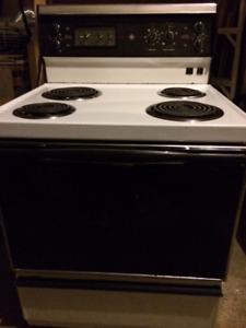 "30"" General Electric oven stove range"
