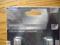 Brand new pair of Wickes Monaco kitchen cabinet handles(19 pairs available)